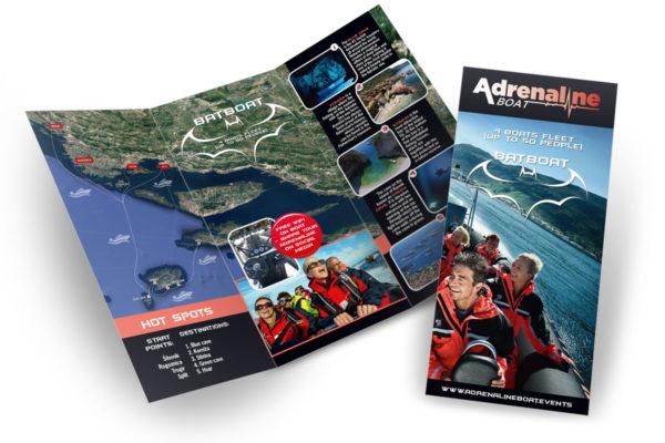 Adrenaline Boat preklopni letak