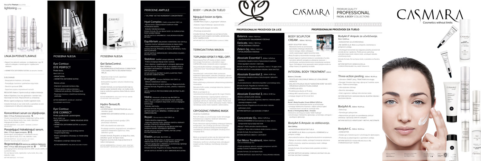 Casmara-brochure
