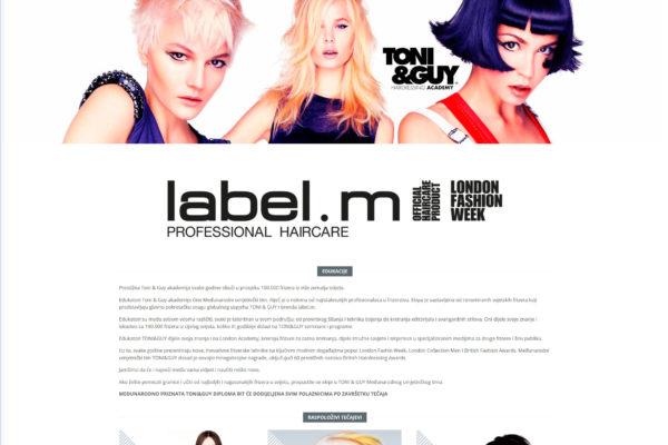 Topstil label.m edukacije